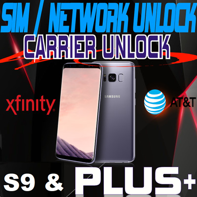 Samsung Galaxy S9/S9 Plus Sim Carrier Instant Unlock Code(Sprint At&T Tmobile)