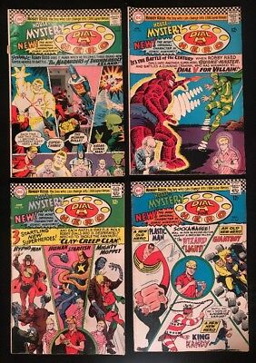 House Of Mystery #157-160 GD/ VG. Dial H for HERO. Plastic Man