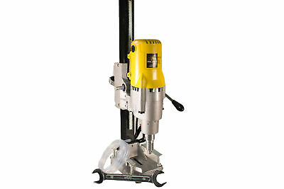 "Steel Dragon Tools® 8"" 185 Wet Dry Core Drill Rig and Stand for Diamond Concrete"