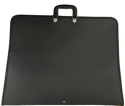 MeMyArt A3 Portfolio Folder/Case - A3 BLACK- Lightweight, flexible and strong!
