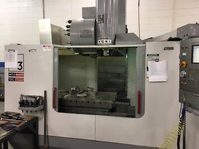 Used Haas VM-3 Mold Making Machine CNC Vertical Machining Center Mill 12k rpm 04