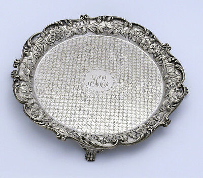 "KIRK Repousse Sterling SALVER 8"" Diapered Center"