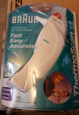 BRAND NEW FACTORY SEALED Braun ThermoScan EZ One-Second Ear Thermometer NEW
