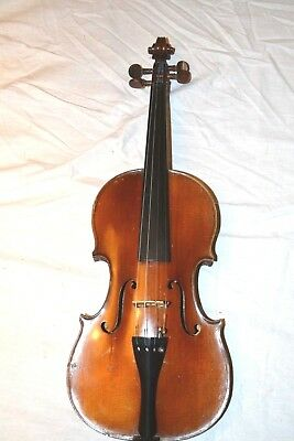 antique french violin from mirecourt made by H.DENIS circa 1890