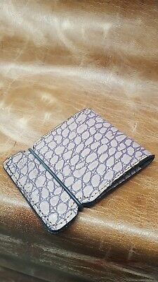 New cash cover golf wallet.lilac crocodile embossed ,by Franko designs.handmade