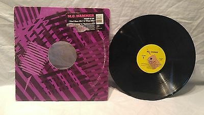 Vinyl Lp Record Album Mc Hammer Pump It Up 1988 Club Mixes