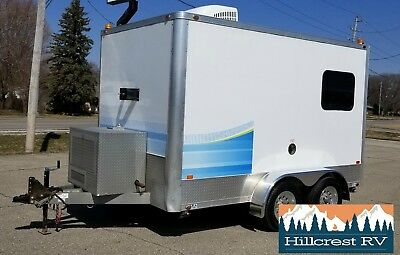 2015 Intech 712TA Fiber optic cable splicing Trailer excellent condition