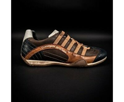 Chaussures GULF GP Designo marrons pour homme