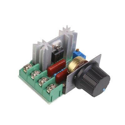 Adjustable 2kW AC Motor Speed Control Controller Voltage Regulator 50-220V