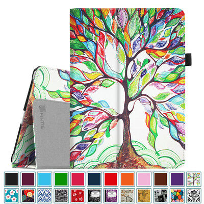 For New iPad 6th Gen 9.7 inch 2018 / 5th Gen 2017 Folio Case Cover Stand Leather