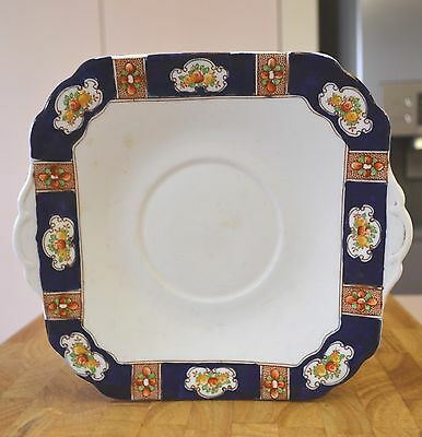 Antique Art Deco Plate Vintage 21.5cm Doric Staffordshire Potteries Porcelain