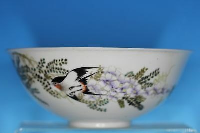 Perfect Chinese Republic Period Famille Rose Porcelain Antique Bowl