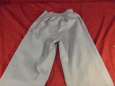 Girls 14-16 Fila Sweat Pants Workout Gym Walking Running Yoga Pilates Gray Red