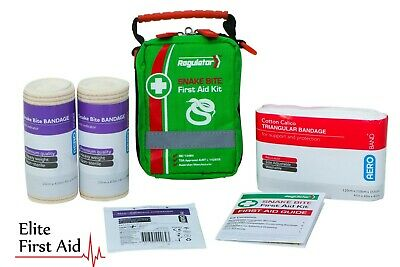 SNAKE BITE FIRST AID KIT - compact kit with compression indicator bandages