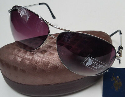 f3c36d5045 US POLO ASSN Sunglasses Metal New w  Tags   Hard Case Womens Unisex US  SELLER