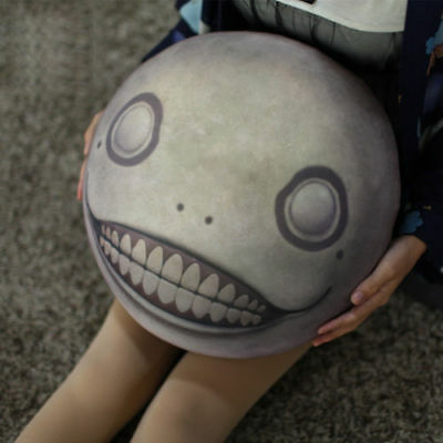 Anime NieR: Automata 2B Emil Plush Doll Stuffed Toy Sofa Cushion Pillow