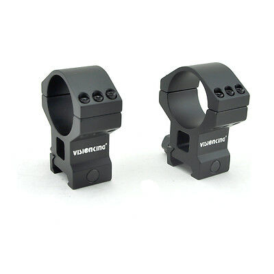 Visionking rifle scope rings 35 mm mounting .223 .308 .50 cal 6061 picatinny