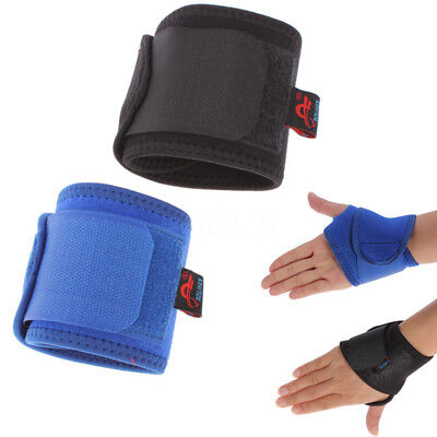 1/ Pairs Weight Lifting Wrist Wraps Bandage Hand Support GYM Straps Cotton Brace