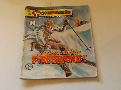 Commando War Comic Number 526!,1971 Issue,good For Age,47 Years Old,very Rare.