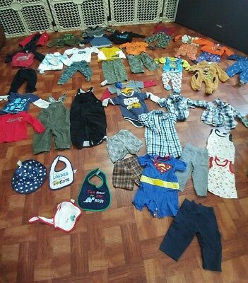Huge Lot Of Boys Clothing Size 18 Month To 24 Month EUC (Children's Place...)