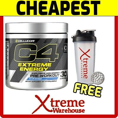 Cellucor C4 Extreme Energy Id Series 30 Srv // Pre Workout Focus Boost Creatine