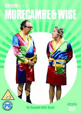 THE MORECAMBE & WISE COMPLETE SERIES 9 DVD Ninth Season Ernie Wise UK New R2