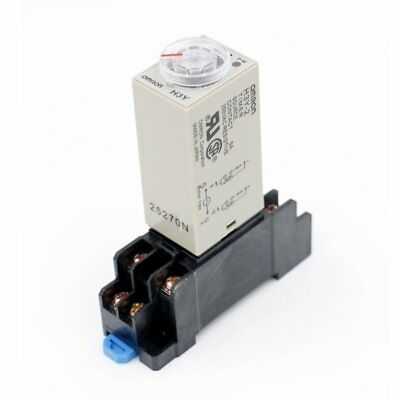 Baomain DC 12V H3Y-2 Time Delay Relay Solid State Timer 0-30 S DPDT w Socket