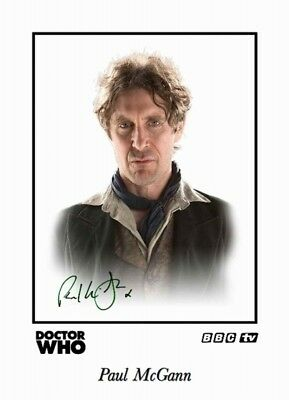 Collectors/Photograph/Print/7 x 5 Photo/Dr Who/Paul McGann/Signed Print