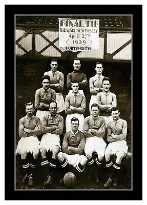 Collectors/Photograph/Print/7 x 5 Photo/Portsmouth 1929 FA Cup Finalists Team