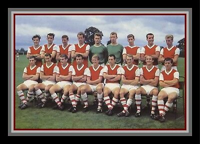 Collectors/Photograph/Print/7 x 5 Photo/Arsenal Team Photo C 1963