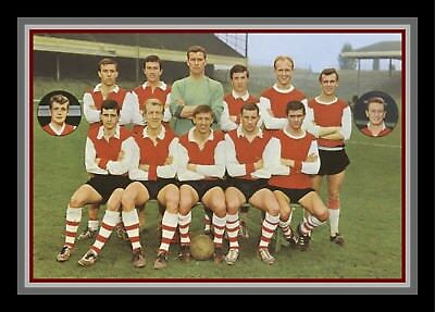 Collectors/Photograph/Print/7 x 5 Photo/Arsenal Team Photo 1960's