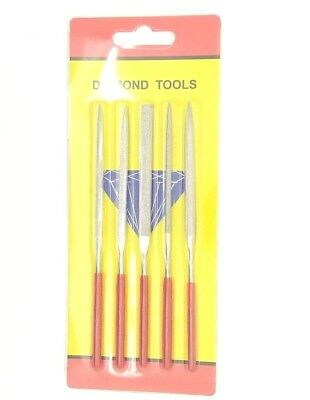 jewelers Diamond Needle File Set Jewellery  Modelling, 140mm ,craft, japan made