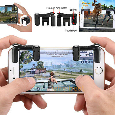 Phone Mobile Gaming Trigger Fire Button Handle for L1R1 Shoot Controller PUBG II