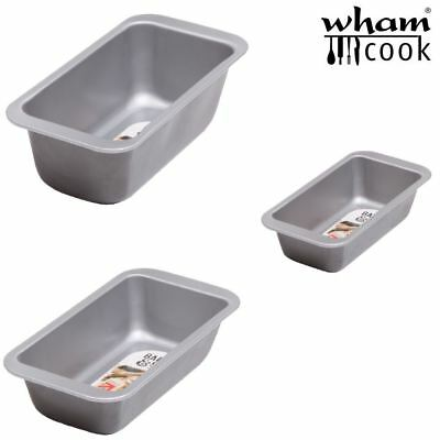 Wham Baker & Salt Traditional Loaf Bread Cake Pan Tin In Various Sizes