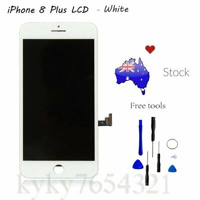 For iPhone 8 Plus LCD White Screen Digitizer Touch Display Replacement Assembly