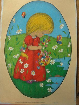 Hobbytex - Girl Picking Flowers