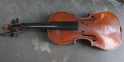 Antique Jacobus Stainer Wooden Violin Old Unrestored Estate Piece