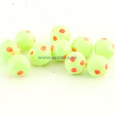 COARSE FISHING 11 X 5.6MM FLY TRONIX PRO NEW Floating OVAL BEADS FOR SEA