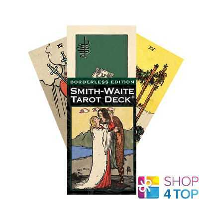 Smith-Waite Borderless Edition Tarot Deck Cards Esoteric Us Games Systems New