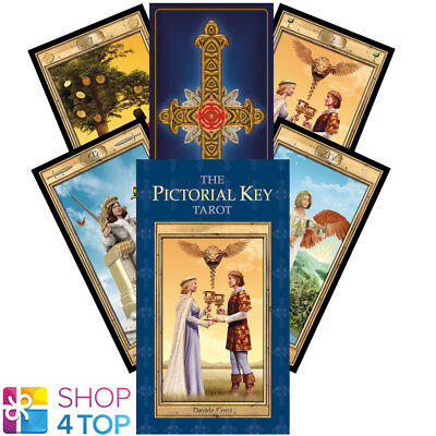 The Pictorial Key Tarot Deck Cards Davide Corsi Esoteric Fortune Telling New
