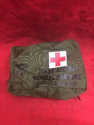 NEW USGI General Purpose First Aid Kit Medical Instrument & Supply Case No.2