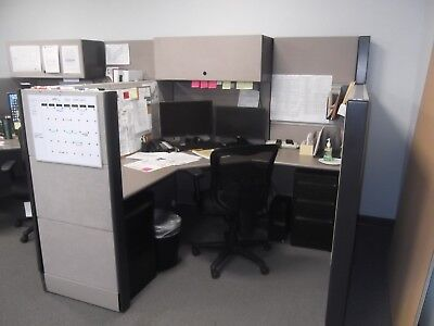 6 used office cubicles for sale! Great condition