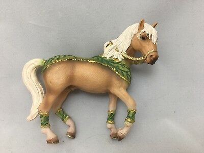 schleich horses Green Gold Dressing Brown Coat Male '06