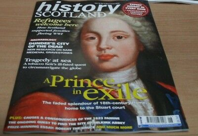 History Scotland magazine May/Jun 2018 Bonnie Prince Charlie exiled in Rome