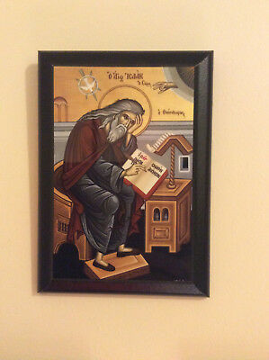 Icon Byzantine Orthodox Christian Religious Saint Isaac the Syrian / Of Ninevah