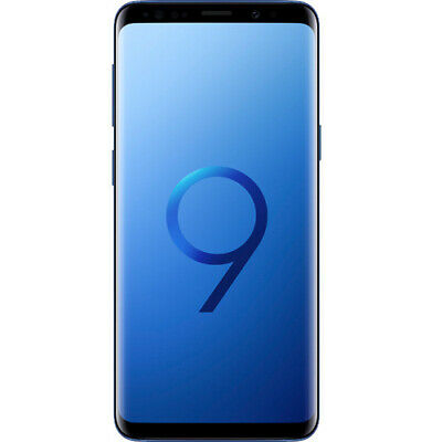 New Samsung Galaxy S9 Plus Coral Blue SM-G965F LTE 128GB 4G Sim Free Unlocked UK