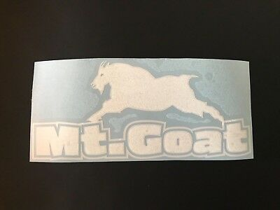 mountain goat decals