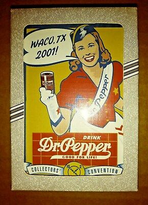 Unused Complete Set Of Dr Pepper Playing Cards Unupened