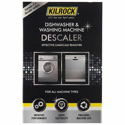 Kilrock Dishwasher & Washing Machine Descaler 3 per pack