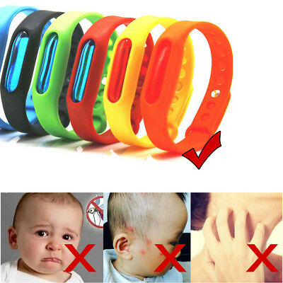 Anti Mosquito Bracelet Pest Insect Bugs Repellent Wrist Band Repeller Wristband